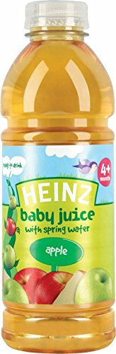 Heinz Baby Juice With Spring Water 4Mth+ Apple (750Ml) front-473874