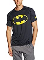Under Armour Camiseta Manga Corta Alter Ego Core Batman (Negro)