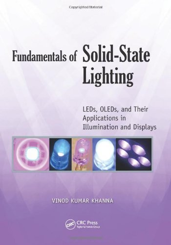 Fundamentals Of Solid-State Lighting: Leds, Oleds, And Their Applications In Illumination And Displays
