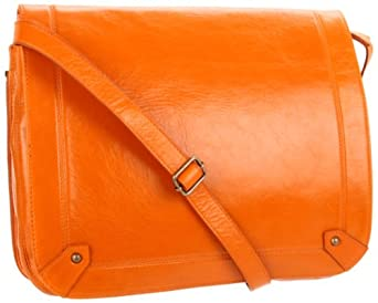Latico Reed 7992 Messenger Bag,Orange,One Size
