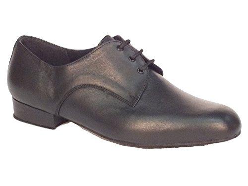 Scarpa da uomo per ballo standard nappa nero (Taglia 47)