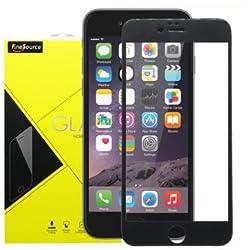 iPhone 6 Plus Carbon Fiber 3D Round Edge Screen Protector, FineSource iPhone 6 Plus Glass Screen Protector (5.5 )- [Tempered Glass] Ultra-clear Glass Screen Protector Perfect Fit for iPhone 6 Plus