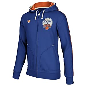 NBA New York Knicks Blue Springfield Full Zip Hoodie by adidas