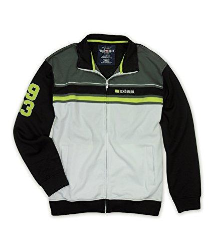 Ecko Unltd. Mens Marc Ecko Colorblock Full Zip Track Jacket Outerwear