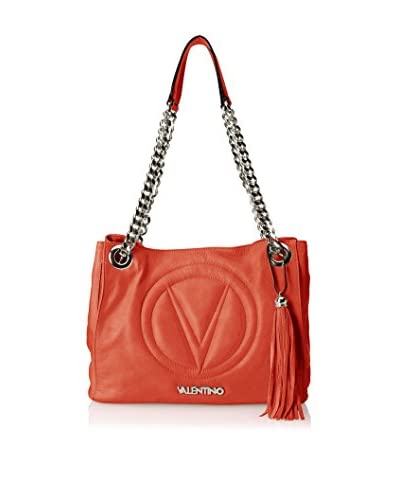 Valentino Bags by Mario Valentino Women's Luisa 2 Shoulder Bag, Coral Red