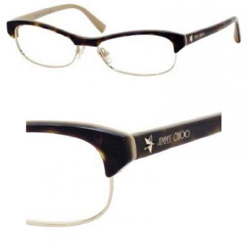Jimmy ChooJIMMY CHOO 44 Eyeglasses (0SYE) Havana Nude - 52 mm [Apparel]