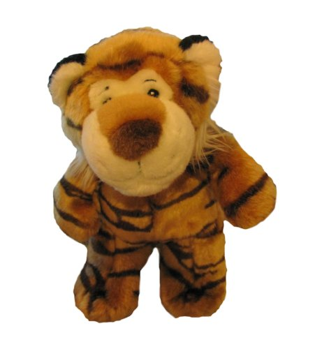 Charter Club Home Plush Tiger Stuffed Animal- Orange (Brown) - 1