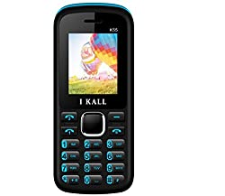 I Kall K55 1.8 inch Dual Sim Mobile (Black & Blue)