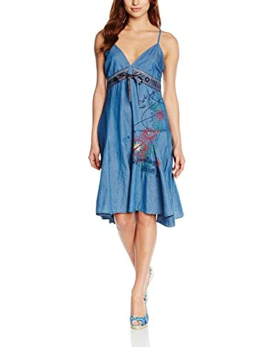 Desigual Dress Vest_Tie 4, 5053 Denim Medium