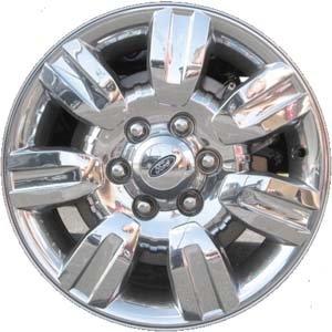 18 Inch 2009 2010 2011 2012 2013 2014 Ford F150 Truck Factory Original OEM Chrome Clad Alloy Wheel Rim AL3J1007CA 3785 560-03785 18x7.5