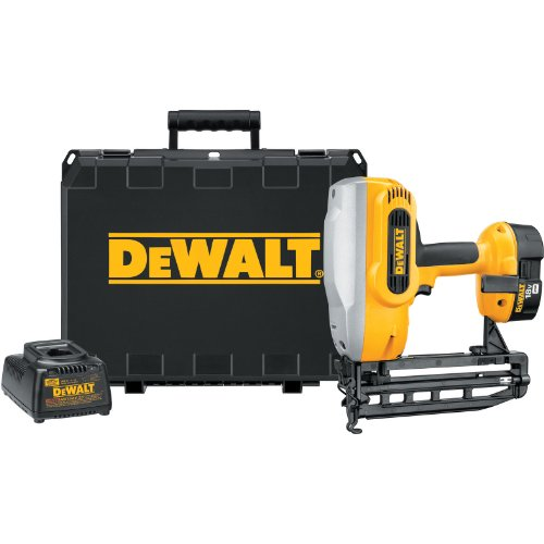 DEWALT DC616K XRP 18-Volt Cordless 1-1/4-Inch - 2-1/2-Inch 16 Gauge Straight Finish Nailer Kit