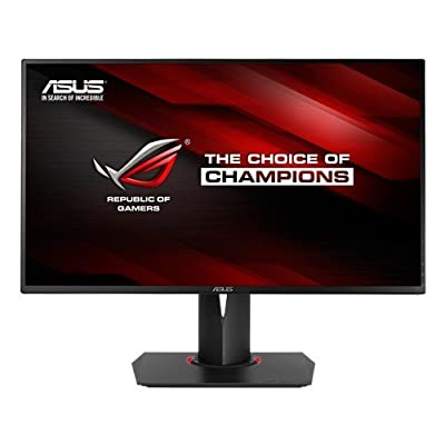 "ROG Swift PG278Q Gaming Monitor - 27"" 2K WQHD (2560 x 1440),60-120-144Hz refresh rate 1ms, up to 144Hz,NVIDIA..."