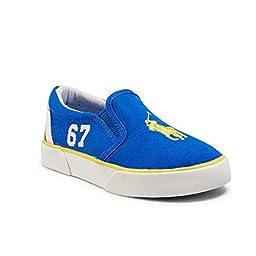 Polo Ralph Lauren Victory Slip on Sneaker Royal Blue Size 4