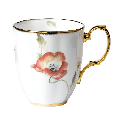 Royal Doulton-Royal Albert 100 Years 1970-Poppy Mug