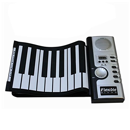 Us Compass Professional Silicon Rubber Usb Midi Flexible Roll Up Electronic Piano Keyboard?