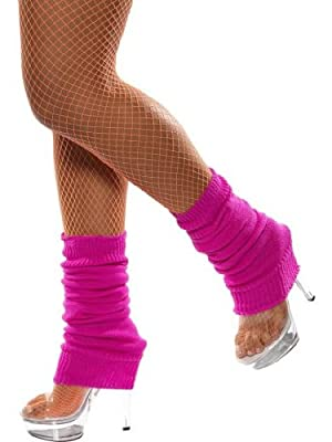 Smiffy's Unisexadult Leg Warmers One Size