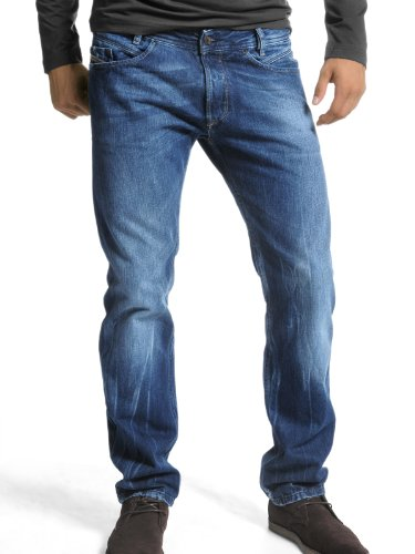 Brand New Diesel Reyhan 8C0 Mens Jeans, 08CO, Regular Slim Fit Bootcut (32 x 32)