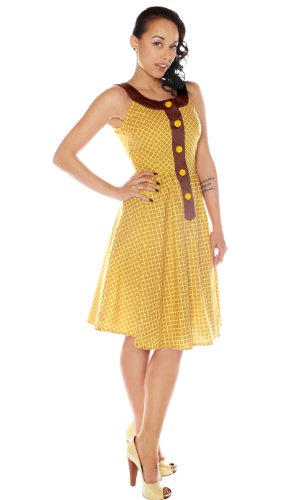 Folter Womens Doris Day 50's Style Dress