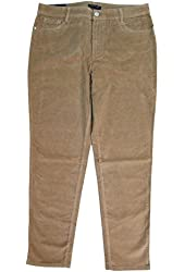 Bandolino Lucie Skinny Corduroy Slimming Jeans Acorn Shell