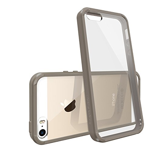 [DROP PROTECTION] RINGKE FUSION® iPhone 5S / 5 Coque Étui Housse de Protection Bumper Case Cover [CHAMPAGNE] The Best Selling Shock Absorption Bumper + Anti Scratch Clear Back Panel + Design It Yourself Active Touch Technology Premium Hybrid Hard Case C
