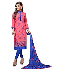 WALKNSHOP Women's Salwar Suit Dress Material