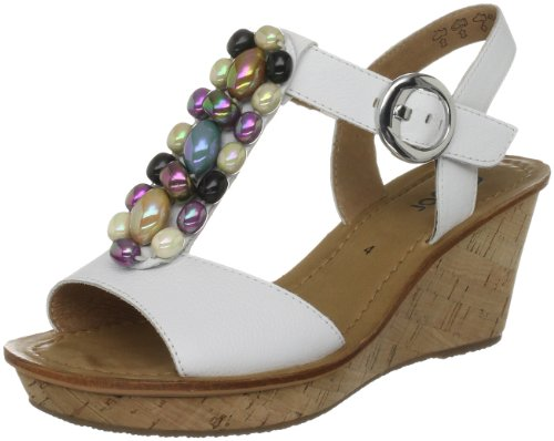 Gabor Women's Nuthatch White Wedges 45.761.21 3 UK