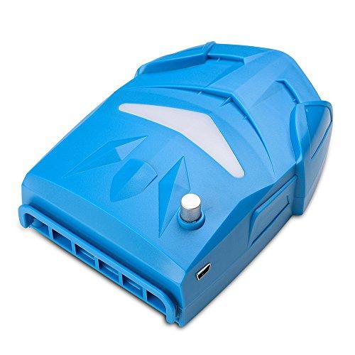 Alxcio Portabel Laptop Kühler Hochleistungslüfter Cooling Pad Luft Extrahierung Vakuum-lüfter Gaming Chum CPU Kühler mit USB, Einstellbare Windgeschwindigkeit, Leiser Betrieb, Ultra-portable Heizkörper, Wiederverwendbare, Energiespar für Notebook / Laptop