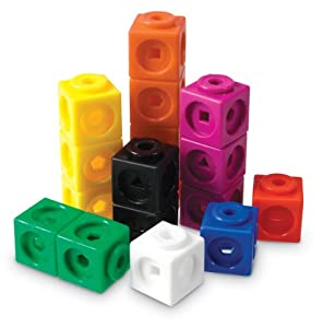 Learning Resources Mathlink Cubes-100 by Learning Resources