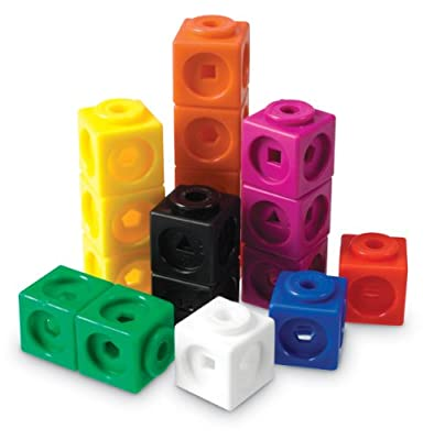 Learning Resources Math Link Cubes (Set of 100)