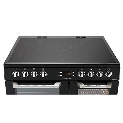 Leisure CS90C530K Cuisinemaster Black 90cm Electric Range Cooker With Ceramic Hob