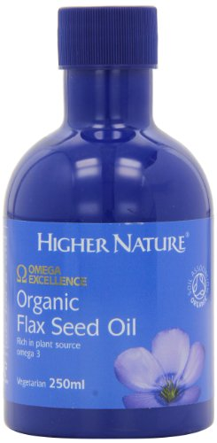 Higher Nature Organic Flax Seed Oil 250ml