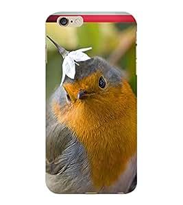 ColourCraft Cute Bird Design Back Case Cover for APPLE IPHONE 6 PLUS