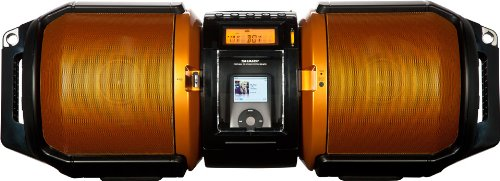 Sharp 100W X-Bass USB Boombox Entertainment Sound System Stage with iPod Dock Black Friday & Cyber Monday 2014