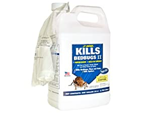 JT Eaton 207-W1G Water Based Bedbug Spray with Sprayer Attachment, 1-Gallon by JT Eaton