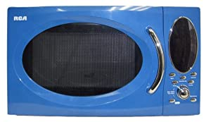 RCA RMW991-Blue 0.9 Cu-Ft Microwave