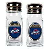 NBA Cleveland Cavaliers Salt and Pepper Shaker Set with Crystal Coat Amazon.com