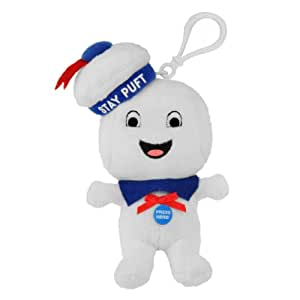 Ghostbusters Mini Singing Plush Stay Puft Happy Face
