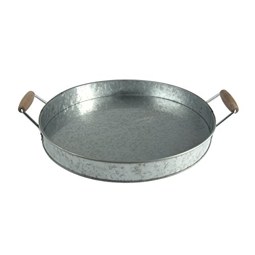 Artland Oasis Party Tray, Galvanized, Metal (Galvanized Steel Tray compare prices)
