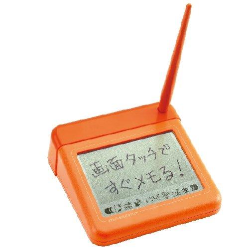 KINGJIM 卓上メモ「mamemo(マメモ)」 ビビットオレンジ TM1オレ