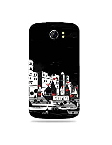 Micromax Canvas 2 A110 Artist Illustrated Printed Case Cover / allluna illustrated and Imported quality mobile case cover for Micromax Canvas 2 A110 (MKD-5001)