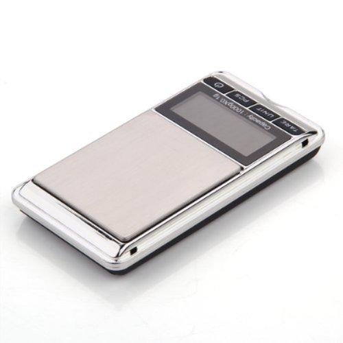 Pixnor 1000g /0.1 g LCD affichage Digital Pocket bijoux d''un barème avec housse sac PU