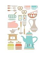 Ambiance Live Vinilo Decorativo Kitchenware Multicolor