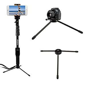 mini tripod imarku high quality portable mini selfie stick stand holder tripod. Black Bedroom Furniture Sets. Home Design Ideas