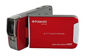 Polaroid ID1440CL-RED-TRU 14MP 4x Zoom Digital Camcorder with 2.7-Inch LCD Screen (Red)