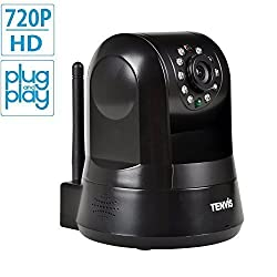 New Arrival P2P H.264 Megapixels TENVIS IPROBOT 3 Indoor Wireless IP Camera with 5x Zoom/Wi-Fi/SD Card Slot/Infrared Night Vision