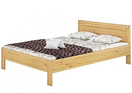 60, 68-14 140 x 200 m letto in legno di pino massiccio con roll ruggine u materasso