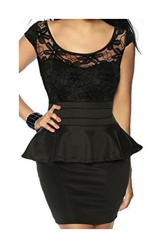 Vintage-Kleid mit Spitze von