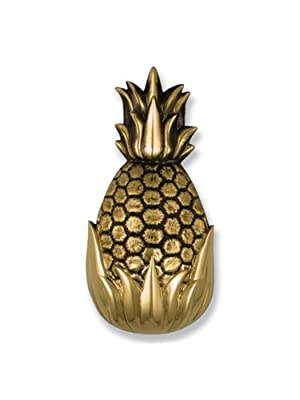 Michael Healy Designs Best Seller Hospitality Pineapple Door Knocker, Brass