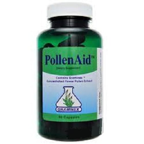 PollenAid Flower Pollen Extract by Graminex - 90 Capsules