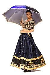 Astha bridal women new design kurti (umbrella _blue colour_42)